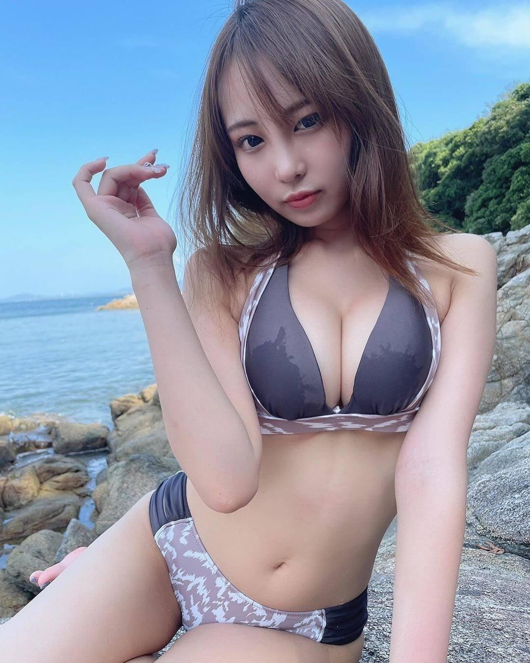 【素人画像】素人×美女×水着=最高にシコいです